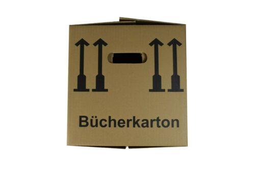 85 neue BÜCHERKARTONS Ordnerkartons Umzugskartons AKTENKARTONS 35-40 Kg AS30003