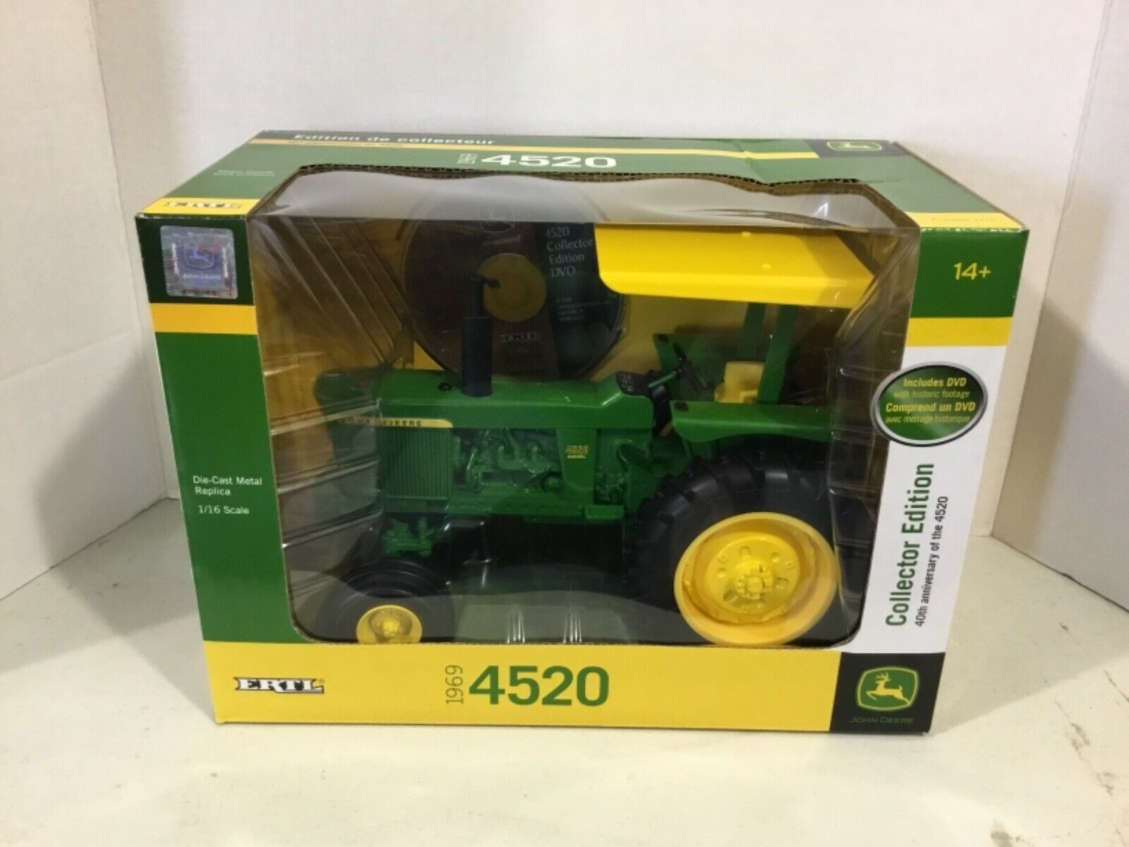 1 16 John Deere Collector Edition 4520 tractor New In Box FREE shipping  45056A