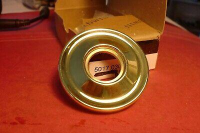BALDWIN 5048.031 Polished Brass Rose 1 pair.