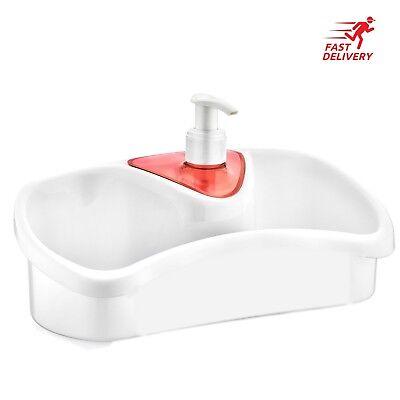 Kitchen Sponge Holder And Washing Up Liquid Soap Dispenser For Kitchen Bathrom 8696219360589 Ebay