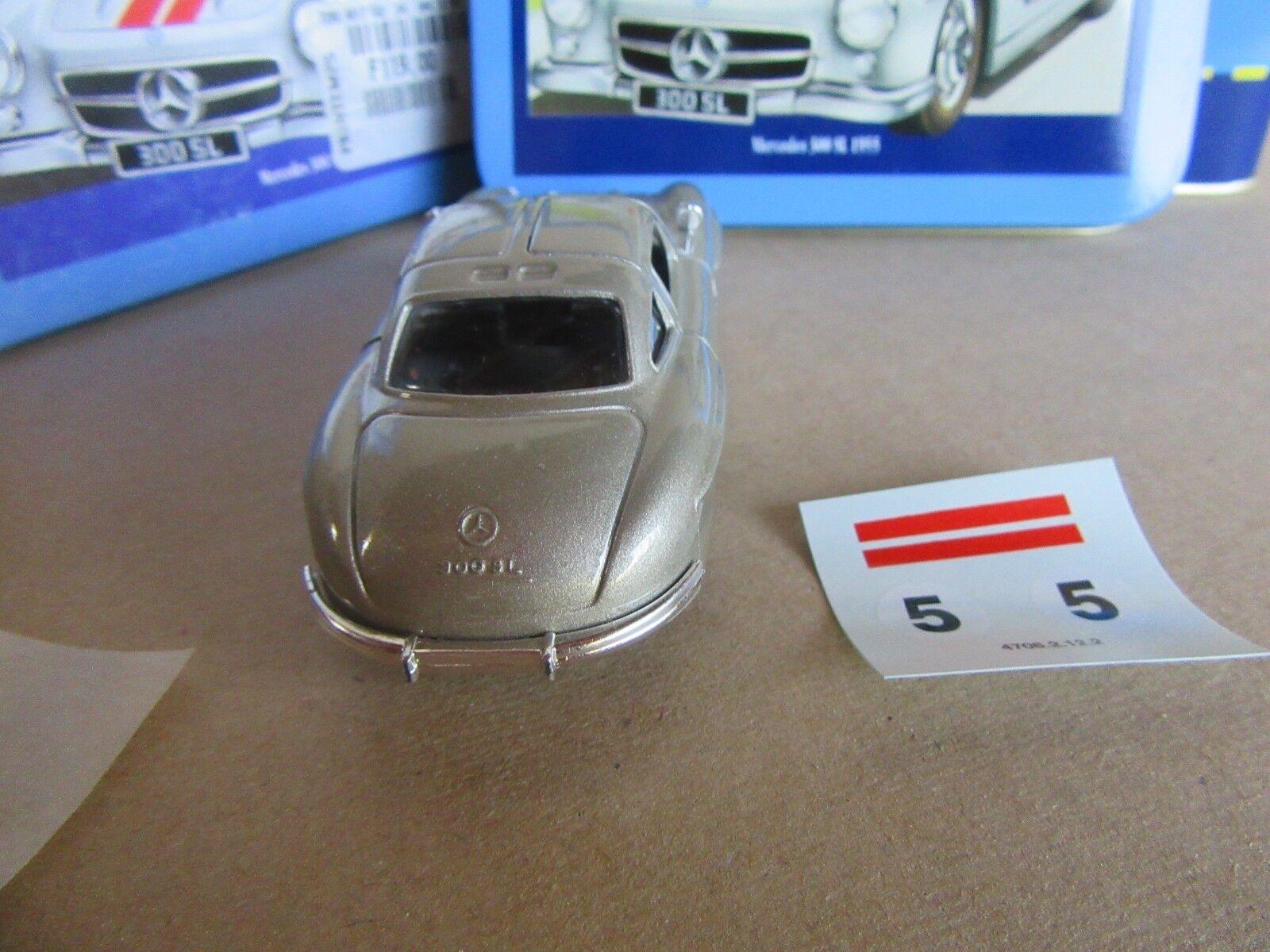 887G Solido Scatola Scatola Scatola Eleganza Mercedes 300 SL 1 43 2c055b