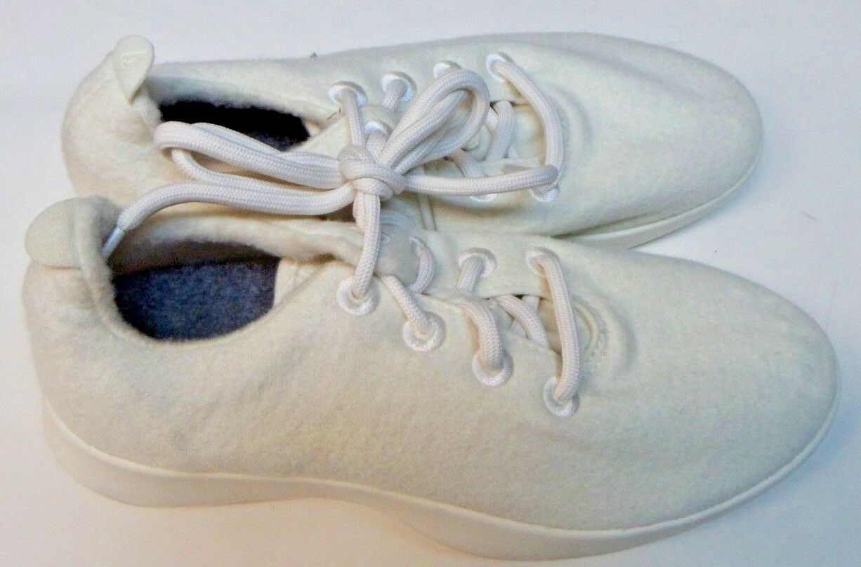 ALLBIRDS femmes Wool Runners chaussures Natural blanc W  Cream Sole Taille 10