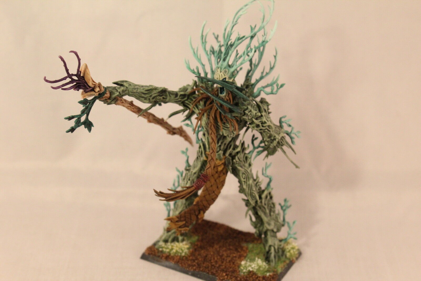 Warhammer Wood Elf Ancient Tree Lord Pro Painted