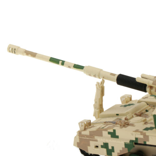 1//87 Scale Howitzer Tank Diecast Military Vehicles Army Toy for Collectible