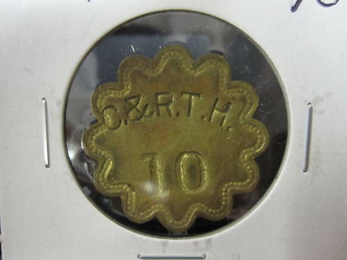 C Maryland /& R.T.H 10 Check Token; Anne Arundel Co