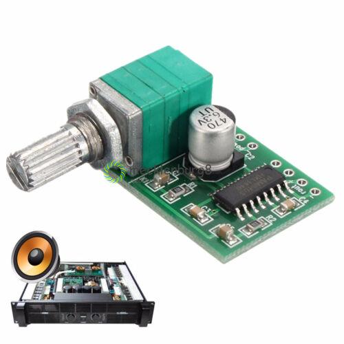 10PCS 5V 2 Channel PAM8403  USB Power Audio Amplifier Board 3Wx2 Volume