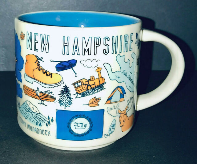 Starbucks BEEN THERE Series BTS--New Hampshire (NH) 14oz Mug NIB
