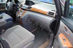 Honda Odyssey Ex Ex L Se Touring Interior Wood Dash Trim Kit 2014