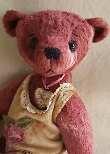 Amulet-Medallion-2in-Unique-Caring-Handarbeit-For-Bear-Or-I-Meow-034-Doll