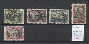 Duitsland-Germany-Danzig-1924-Mi-207-210-200-00-V-8915