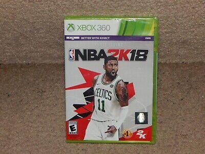 New! NBA 2K18 Xbox 360 Free Shipping Basketball Kyrie Irving Xbox Live  Online 710425499050 | eBay