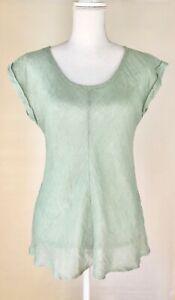 EUC-Eileen-Fisher-100-Linen-Top-Size-S-So-Beautiful