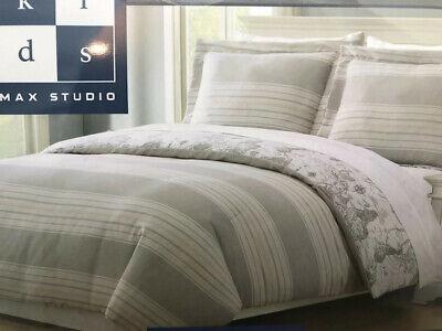 Max Studio Kids Striped World Map Comforter Sham Set White Grey Tan Full  Queen   eBay