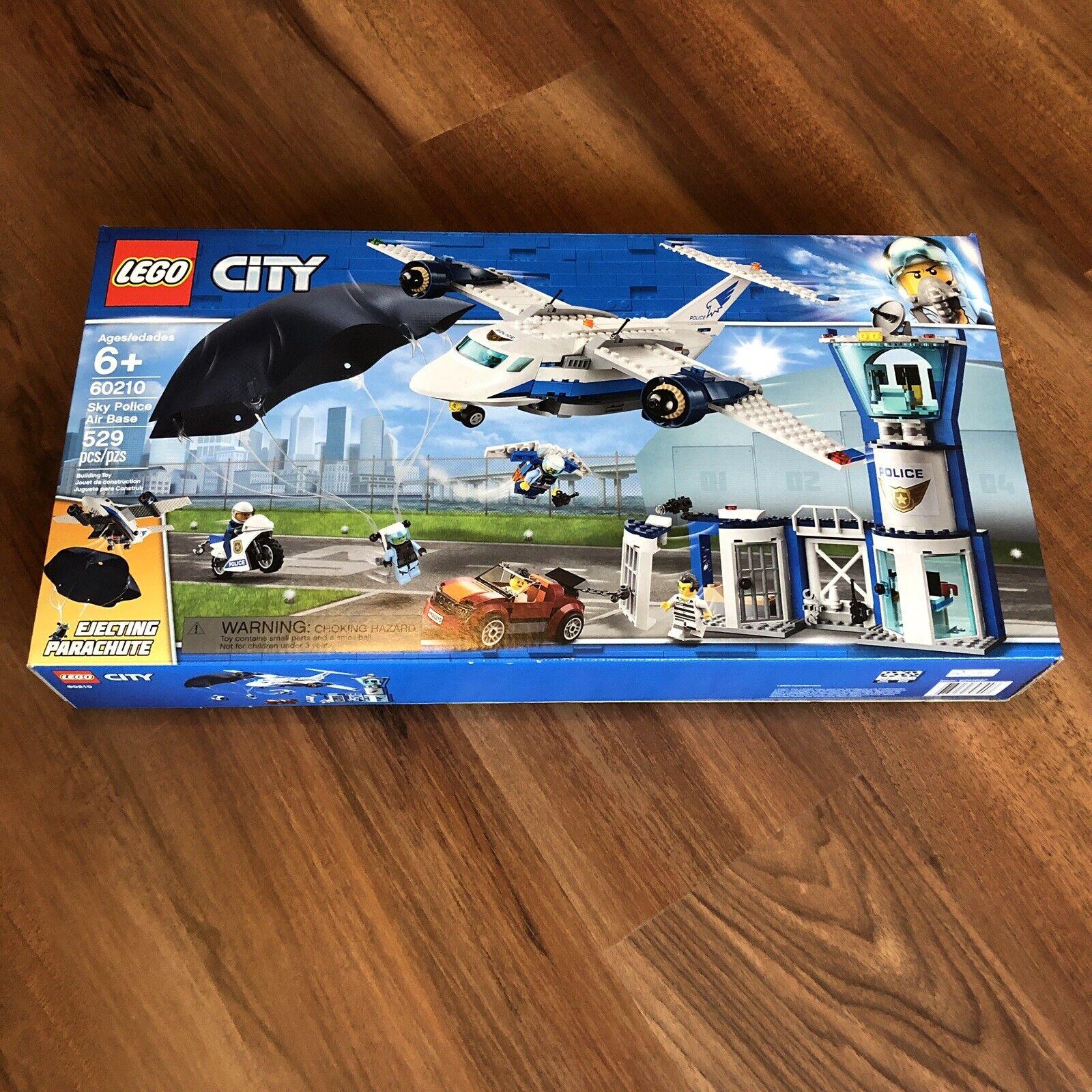 Brand nouveau Unopened LEGO City Sky Police Base  aérienne 60210  les ventes chaudes