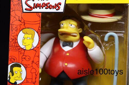 Playmates Simpsons ADJ être Sharp Barney Mail Away TV Figure 2003