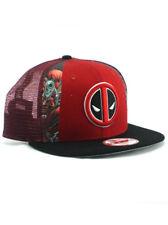 item 7 New Era Deadpool 9fifty Snapback Hat Adjustable Cap Marvel Comics  X-Force X-Men -New Era Deadpool 9fifty Snapback Hat Adjustable Cap Marvel  Comics ... 5e70750780f6