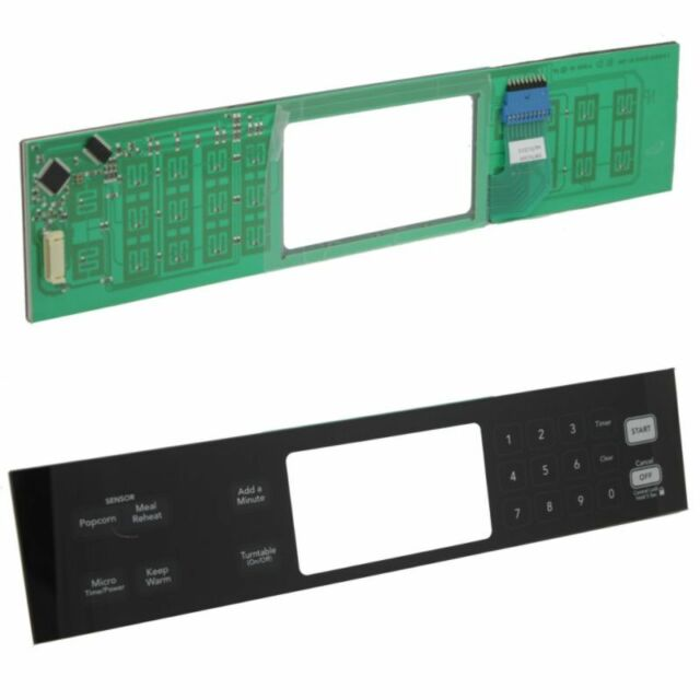 8206635 WHIRLPOOL Microwave keypad