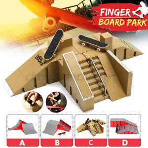 Skate-Park-Ramp-Parts-for-Fingerboard-Finger-Board-Ultimate-Parks-Toys