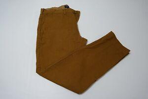 J-Crew-The-Driggs-Khaki-Brown-100-Cotton-Chino-Mens-Pants-Sz-33-29