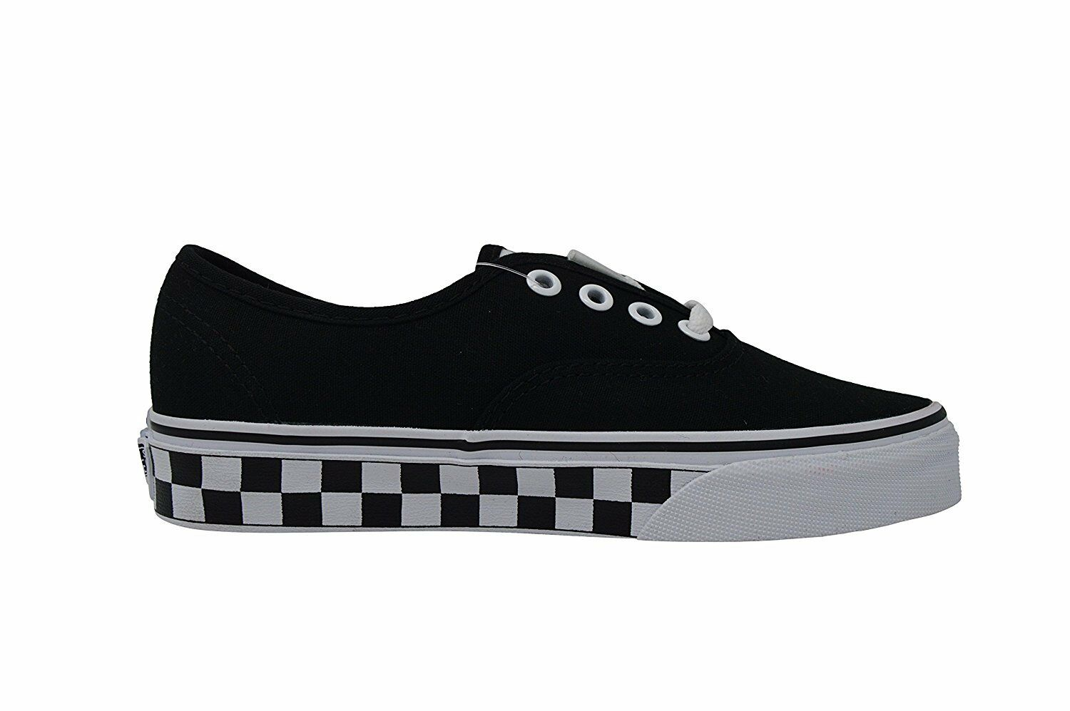 NEW NEW NEW VANS AUTHENTIC CHECKER TAPE schwarz SKATE schuhe MENS 3.5 damen 5 NIB 9e9268