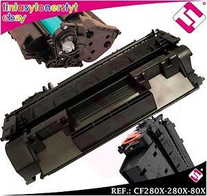 Toner Black CF280X - 280X - 80X XL Property Printers Nonoemhp Doesn'T Original