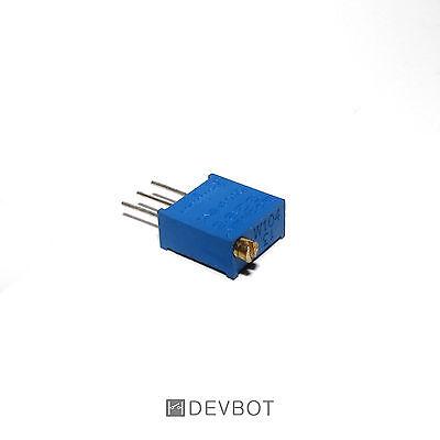 Potentiomètre de précision 100K Ohm 3296. Trim Pot. Arduino, DIY, Pi. 2, 5 ou 10