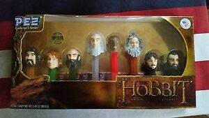 PEZ-COLLECTORS-SERIES-THE-HOBBIT-AN-UNEXPECTED-JOURNEY-8-PC-SET-LIMITED-EDITION