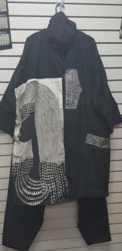 C masai unisex blk11black23567 cappotto c1blk pesante Abbigliamento maschera Africano 6HSwvxYzqn