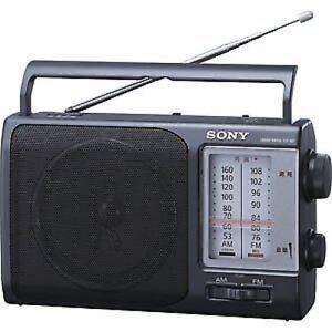 NEW-Sony-Fm-Am-Handy-Portable-Radio-Icf-801-from-Japan-F-S