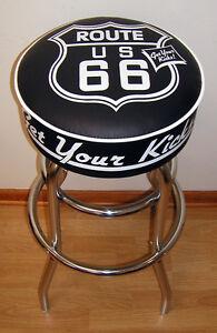 Route-66-Sign-Get-Your-Kicks-Bar-Stools-Stool