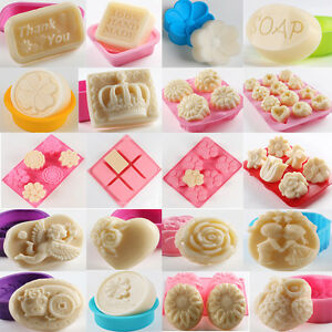 Silicone Ice Cube Candy Cake Candle Cupcake Soap Craft Molds Mould DIY Handmade