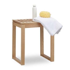 Badhocker Holz, Senioren Sitzhocker, Badezimmerhocker Kinder ...