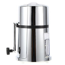 Ice Maker Machine Manual Ice Crusher Commercial Household Portable Shaved Ice