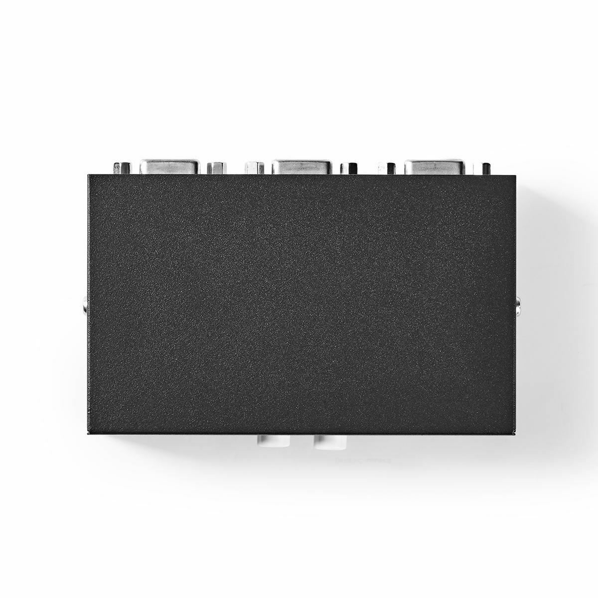 Nedis 2-Port VGA Switch Black