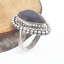 Ring-Handmade-Faceted-Look-Amethyst-Gemstone-925-Silver-Creative-Design-Size-9 miniature 1
