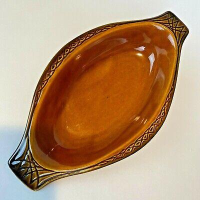 Beautiful McCoy Pottery Parisianne Gourmet dish #1070