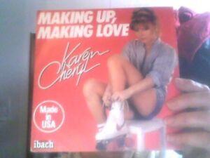 Disque-vinyle-de-Karen-CAheryl-pour-Making-up-Making-love