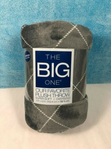 """The BIG ONE Supersoft Plush Throw *You Choose Design* NEW Oversized 60/"""" x 72/"""""""