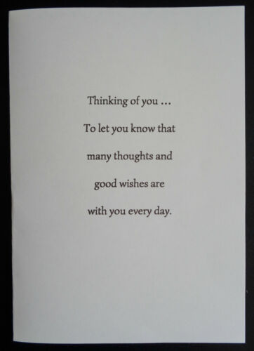 A5,A6,6X6,5X5,7X5,PRE CUT 100GSM PK OF 10 SYMPATHY,THINKING OF YOU CARD INSERTS