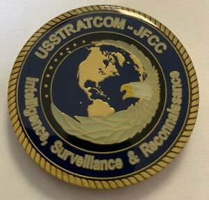 Details about STRATCOM ISR US Strategic Command Intelligence Surveillance  Reconnaissance Coin