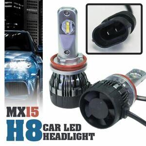 1-set-MX15-H8-Car-LED-Headlight-Driving-Light-Bulbs-Hi-Lo-Beam-White-6000K