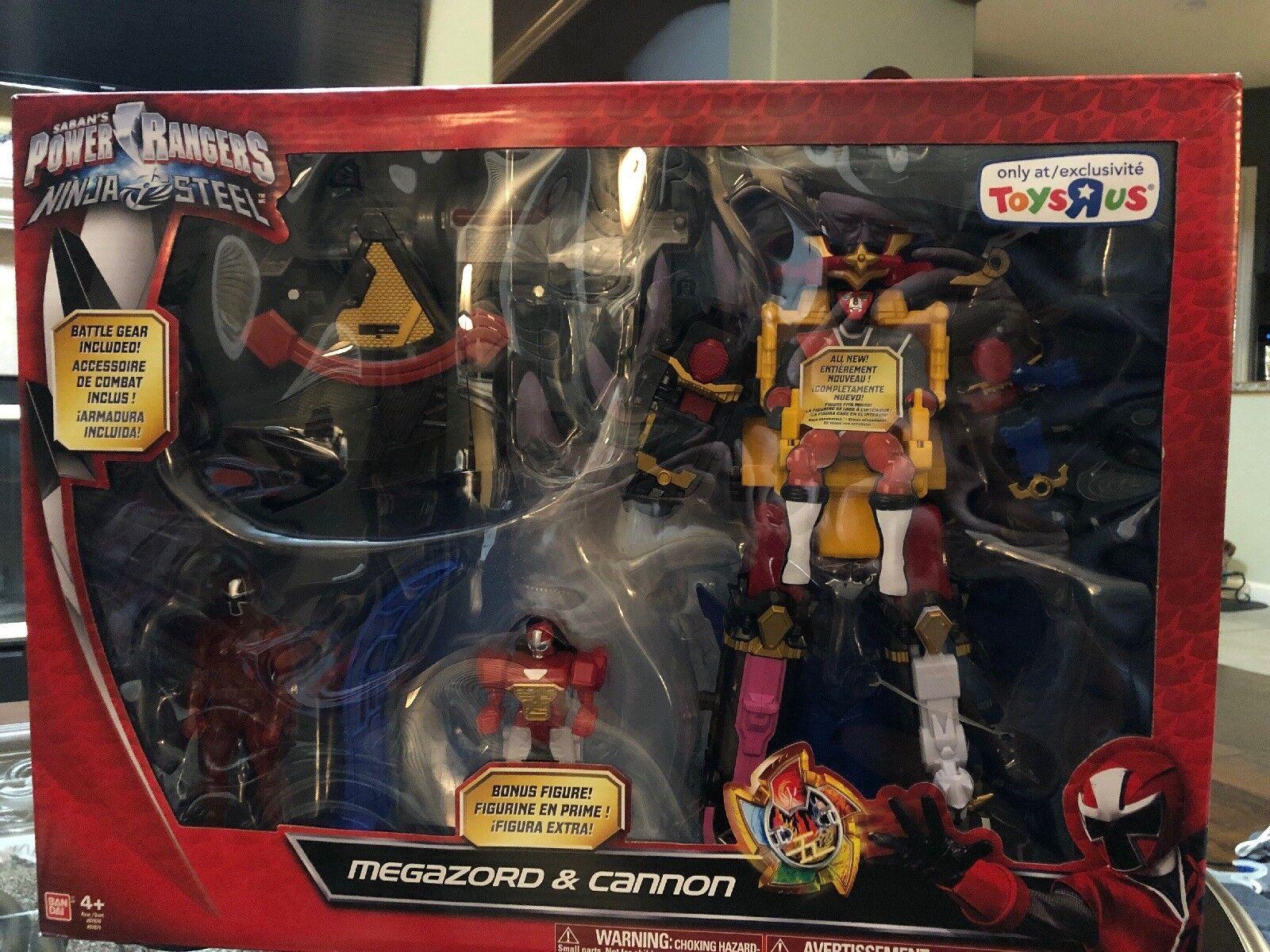 Power rangers ninja - megazord & cannon dx - schlacht morpher tru toys r us