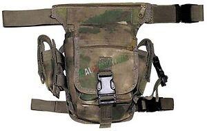e8cff9b395 Caricamento dell'immagine in corso Tracolla-Marsupio-Militare-Tattico- Cosciale-ATACS-FG-Completo-