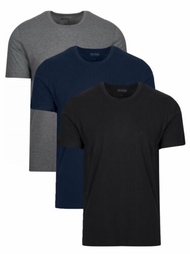 BOSS Multi-Coloured 3-Pack Crew Neck T-Shirt