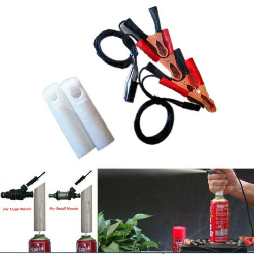 Universal Car Vehicles Fuel Injector Flush Cleaner Adapter Cleaning Tool Perfect