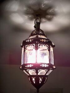 Lustre-plafonnier-marocain-fer-forge-t-lampe-applique-lanterne-suspension-orien