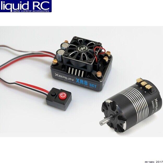 Hobbywing 38020422 Xr8 Combo  Xr8 Sct Esc e 3652sd G2 6100kv Competition Motor  vendita con alto sconto