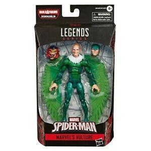 Marvel-LEGENDS-SPIDER-MAN-6-034-Geier-Actionfigur-Demogoblin-BAF-Trizeps-Peg