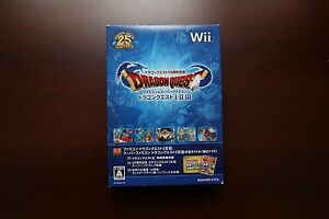 Nintendo-Wii-Dragon-Quest-25th-Anniversary-I-II-III-Collection-JP-game-US-Seller