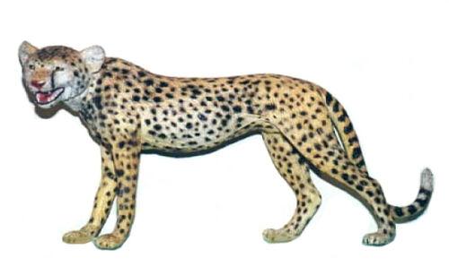 """NIP AAA 96560 Large 13/"""" Cheetah Wild Animal Toy Model Figurine Replica"""